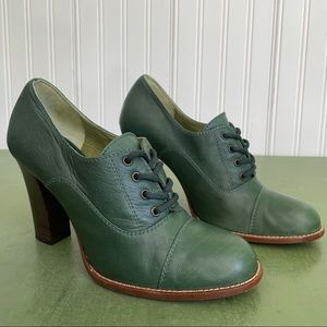 Marc Jacobs Italy-Made Heeled Oxford/Granny Shoes